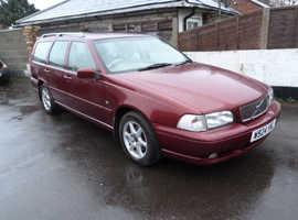 Volvo S/V/C 70, 2000 (W) Red Estate, Manual Diesel, 161,000 miles