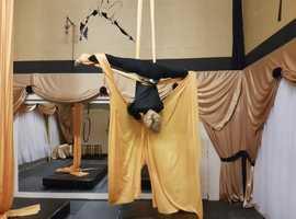 Keep Fit, Burn Fat, Have Fun with Aerial Hoop, Silks and Gymnastics in St Helens,  Merseyside