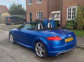 Audi TT, 2017 (17) Blue Convertible, Semi auto Petrol, 23,500 miles