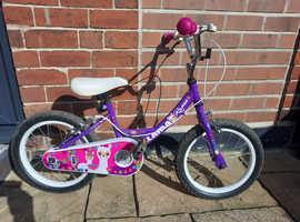 16 inch Purple Llama Rama children's bike
