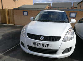 Suzuki Swift, 2013 (13) White Hatchback, Manual Petrol, 47,585 miles