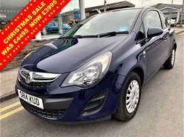 Vauxhall Corsa, 2014 (14) Blue Hatchback, Manual Petrol, 55,810 miles