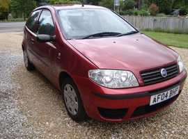 Fiat Punto, 2005 (54) Red Hatchback, Manual Petrol, 58,483 miles Bedford MK41 area