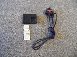 3x digital camera batteries wih charger