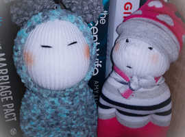 Sockie Character/dolls/ collectables/ handmade