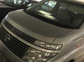Nissan Elgrand, 2004 (53) Silver MPV, Automatic Petrol, 107,232 miles
