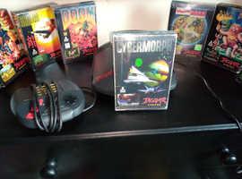 Atari jaguar fully boxed with 8 boxed games and scart setup