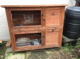Guinea pig/rabbit hutch