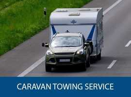 Caravan delivery and collection nationwide service