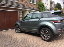 Land Rover Range Rover Evoque, 2017 (17) Grey Estate, Automatic Petrol, 10,600 miles