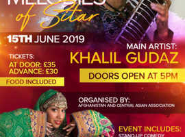 Melodies  of sitar 15th June 2019