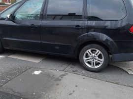 Ford Galaxy, 2010 (10) Black MPV, Automatic Diesel, 119,222 miles