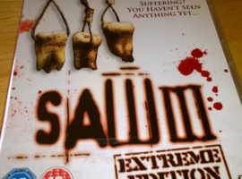 "JOB LOT / CAR BOOT SALE / BULK ""SAW 3"" DVD's * 250 NOW ONLY £10.00 THAT;s ONLY 4pence EACH"