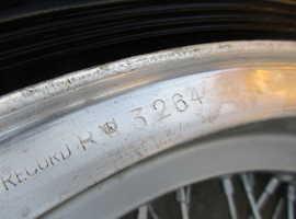Wheel rims Borrani for Ferrari 250 Boano, Ellena,TdF,California,750 Monza
