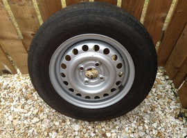 Spare wheel with Continental tyre 155x80