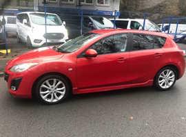 Mazda MAZDA 3, 2011 (11) Red Hatchback, Manual Diesel, 92K miles