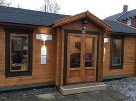 Deluxe Dorchester Log Cabin 7.4m x 4m