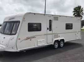 Spacious 2007 Bailey Senator Series 5 Wyoming - 4 berth - fixed bed - secluded bedroom -  end bathroom + awning