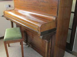 Rud Ibach Sohn Upright Piano - made 1894-5 & Stool