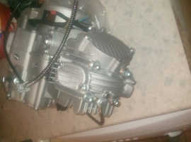 160CC CARB CDI OIL COOLER TWIN EXHAUST FOR STOMP May swap why