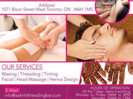 Aakriti Threading & Wax Bar | Professional Henna Design