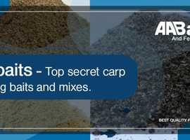 Top secret carp fishing baits and mixes - Aabaits UK