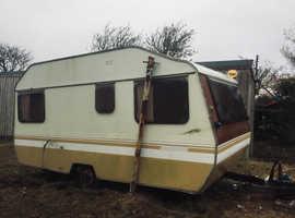 FREE Caravan for animal coop, dry storage or similar