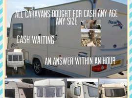 We we'll buy any caravan Essex
