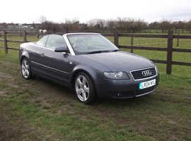 Audi A4, 2004 (04) Grey Convertible, Manual Petrol, 98965
