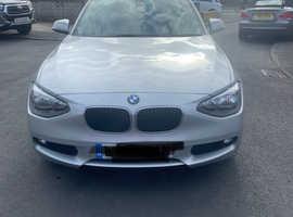 BMW 1 series, 2014 (14) Silver Hatchback, Manual Diesel, 67,000 miles
