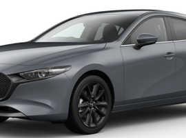 Mazda 3 GT Sport Tech AWD Manual, NEW 21-reg, Polymetal Grey Metallic, Hatchback, Petrol