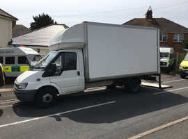 Ford Transit Luton Van with Tail Lift 2006