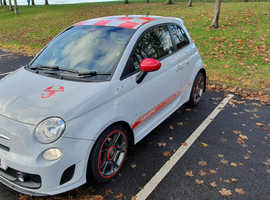 Abarth 500 1.4 T-Jet 135 HP 2010 Campovolo Grey Manual FSH 3dr 2x Keys