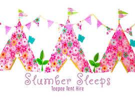 Slumber Sleeps Teepee Tent hire-Children's slumber party planners