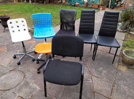 Various Styled Single Chairs