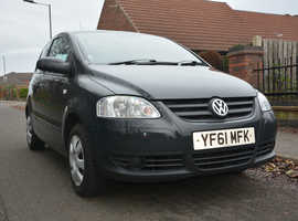 Volkswagen Fox, 2011 (61) Grey Hatchback, Manual Petrol, 103,502 miles 1 OWNER FROM NEW & Full History