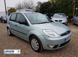 Ford Fiesta Ghia 1.4 Litre 5 Door Hatch, Long MOT (Jan 2020), Lovely Condition, Cheap Insurance Grp.