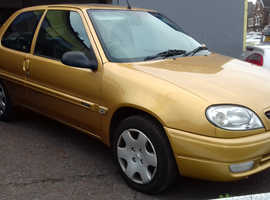 Citroen Saxo, 2002 (51) gold hatchback, Manual Petrol, 46,000 miles