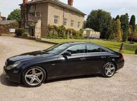 2010 MERCEDES V6 CLS 350 DIESEL IN THE SOUGHT AFTER GRAND EDITION, IN METTALIC BLACK, ONE OF ONLY 500 IN THE UK