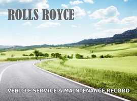 Vehicle Service & Maintenance Record