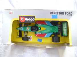 F1 BENETTON FORD RACING CAR 1:24 SCALE;