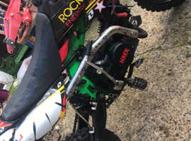 M2R 140 pit bike for sale