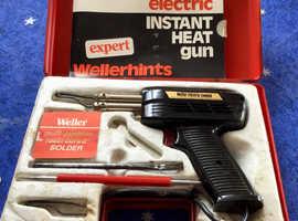 Weller Expert 8200D electric instant heat soldering gun in carry case