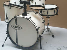 Mapex Voyager Drum Kit - Snow White