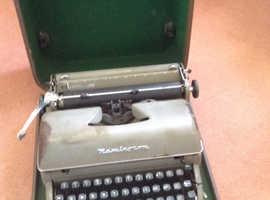 Classic Remington typewriter