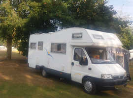 6 BIRTH MOTORHOME FOR SALE 181 RIVIERA 2.8 JTD 17700 MILES 2004 FULLY EQUIPPED READY TO TAKE AWAY