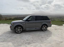 Land Rover Range Rover Sport, 2011 (11) Grey Estate, Automatic Diesel, 91,756 miles