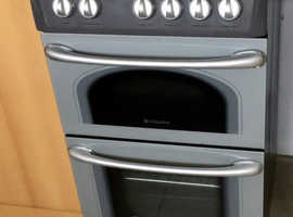 As new, Hotpoint hob cooker, double ovens, never been used