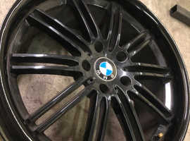 "BMW 19"" staggered alloys"