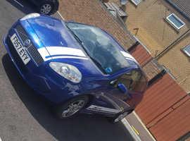 Fiat Grande Punto, 2007 (57) Blue Hatchback, Manual Petrol, 100,000 miles